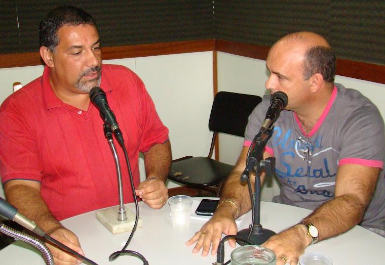 VEREADOR SAULO PERES NO PROGRAMA INFORMAÇÃO EM FOCO NA RÁDIO COSTA DO SOL AM 560