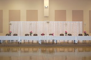 Wedding Head Table With