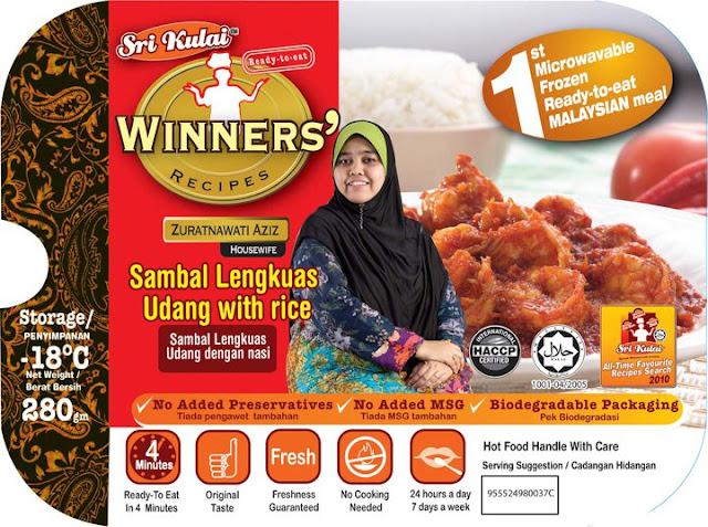 Sri Kulai Winner's Recipe