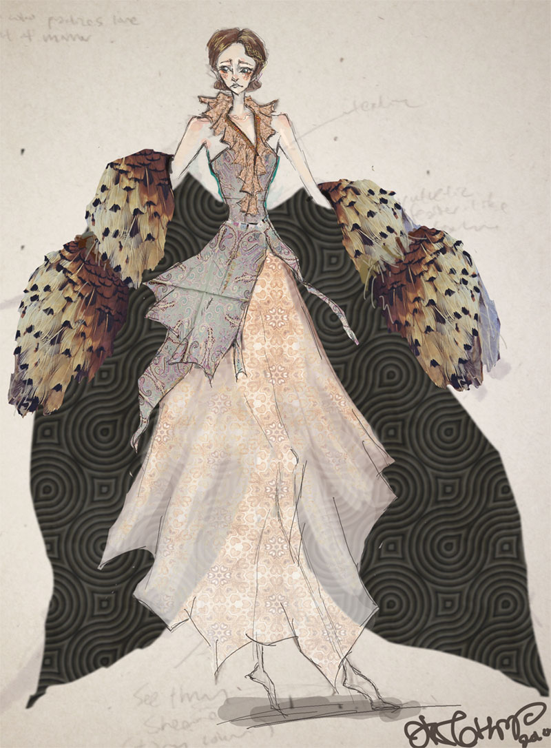 Costume Design Character Analysis : Character costume design ateralas