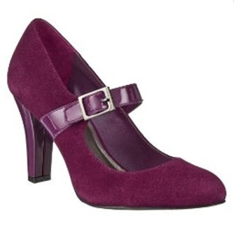 Merona Marylynn Suede Mary Jane Pumps