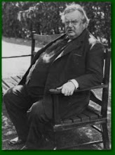 What would Keith Gilbert Chesterton say?