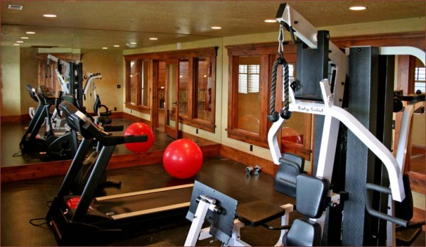 Home Gym Room Decorating Ideas