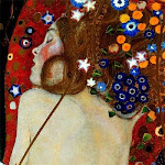 The sea serpent / Gustav Klimt