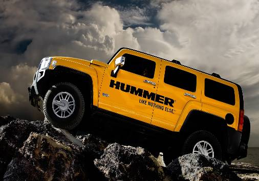 There are no two-wheel drives which Hummer is having.