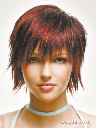 choppy short hairstyles · choppy bob hair cuts photos