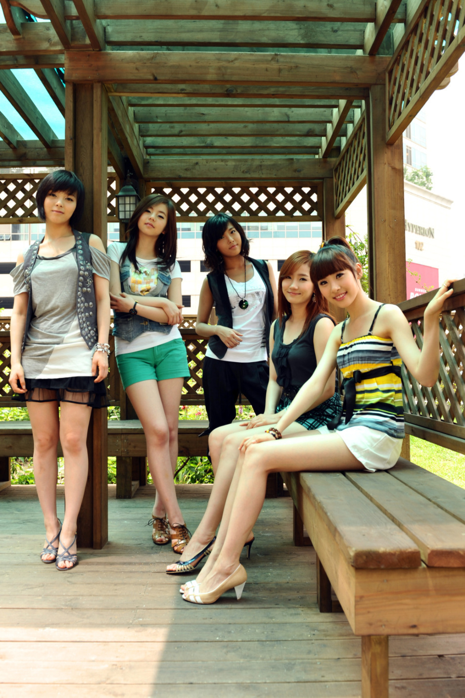 Wonder girls photo wallpaper