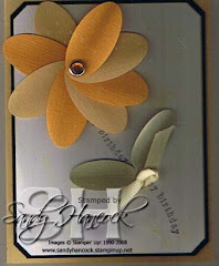 Flower Punch Card