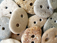 Lovely pebble buttons on etsy