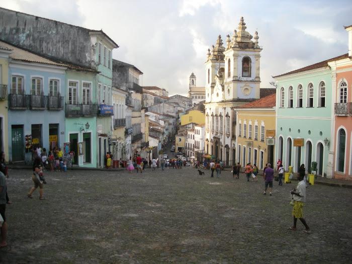 Salvador de Bahia, el Pelourinho