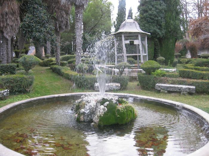 Brihuega, jardines románticos