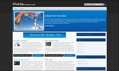 Blogspot template Chucky
