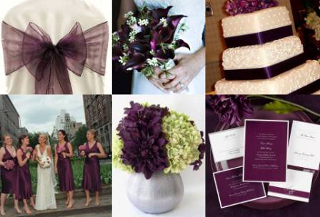Contact Chic Seats today to book chair covers with eggplant sashes