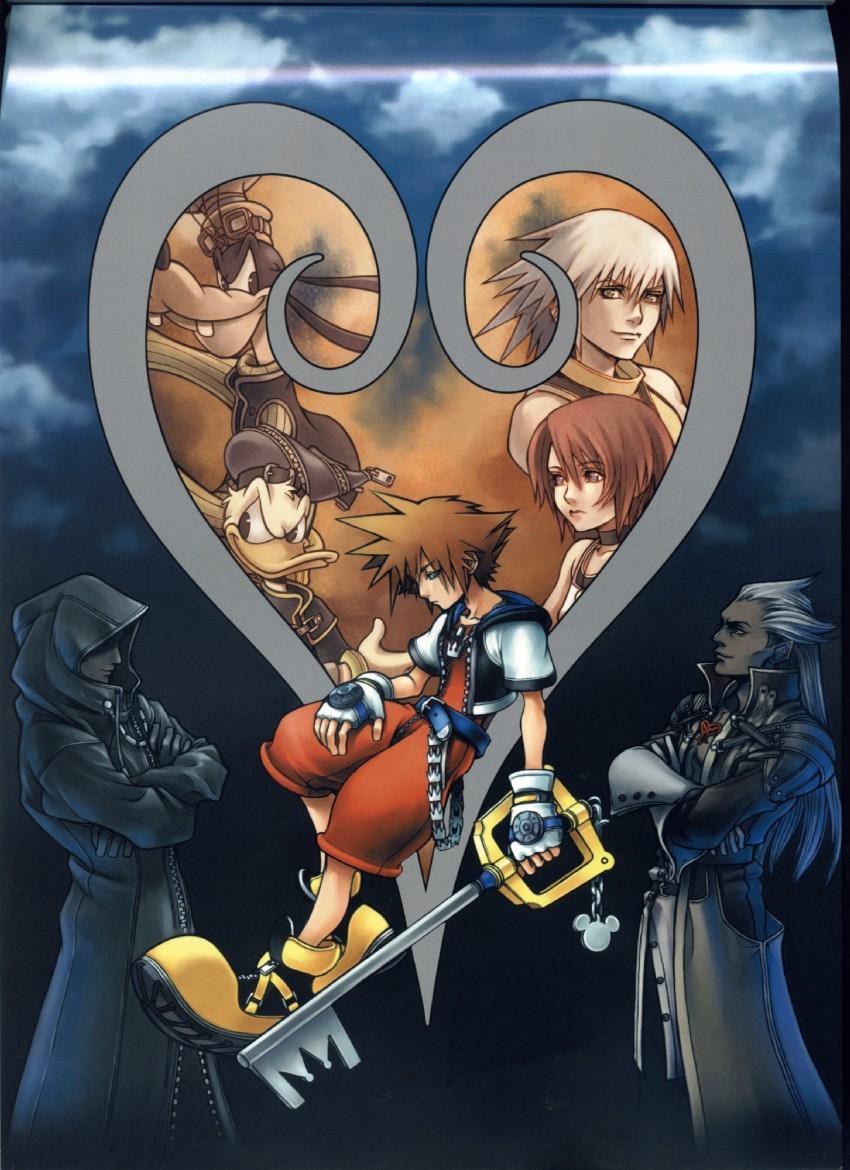 kingdom Heart HD & Widescreen Wallpaper 0.930845541981828