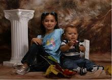 Nadine & her nephew Christopher