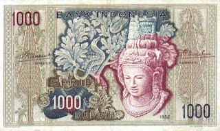 1952 rp 1000 Perubahan Mata Uang 1000 Rupiah dari Tahun 1952 2010