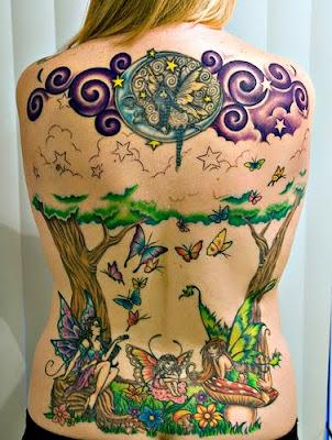 Cute Fairy Tattoos