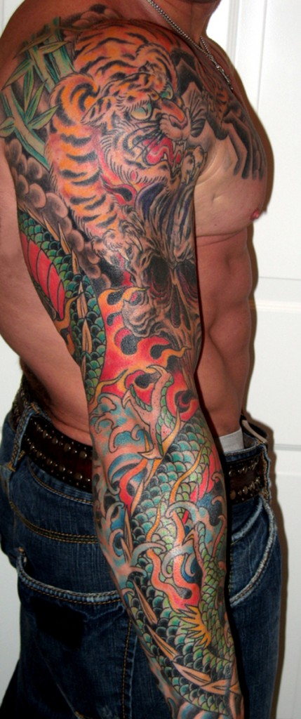 Amazing tribal tattoos sleeve which. Arm Sleeve Tattoo Ideas