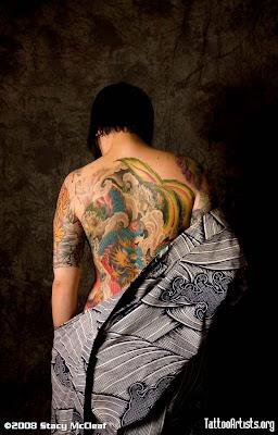 Beauty Japanese Tattoo Art