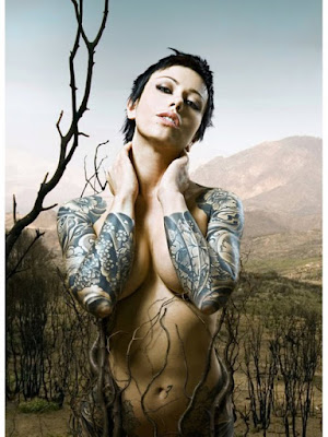 Woman Sleeve Tattoo