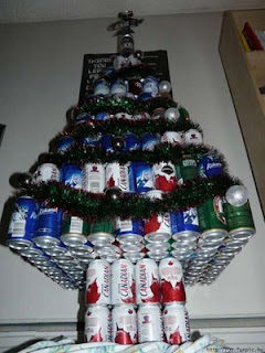 beer+can+christmas+tree+A - Recycled Christmas Decors - General Topic