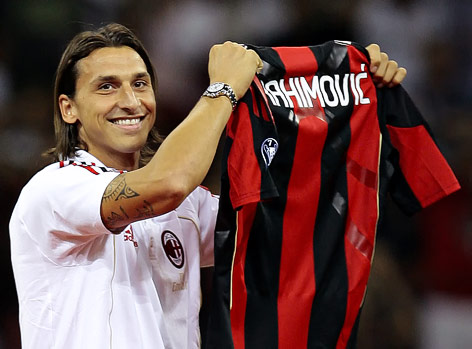 Ibrahimovic Foto Milan Ibrahimovic to Milan in a