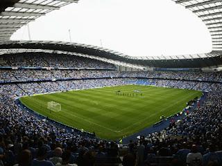 City of Manchester Stadium Profile Photo.