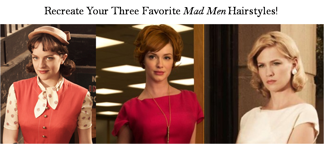 Mad Men Hairstyles!