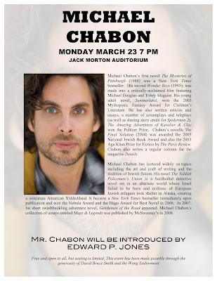 michael chabon essay