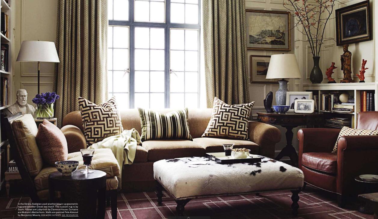 Splendid sass garrow kedigian in manhattan for Manhattan interior designs
