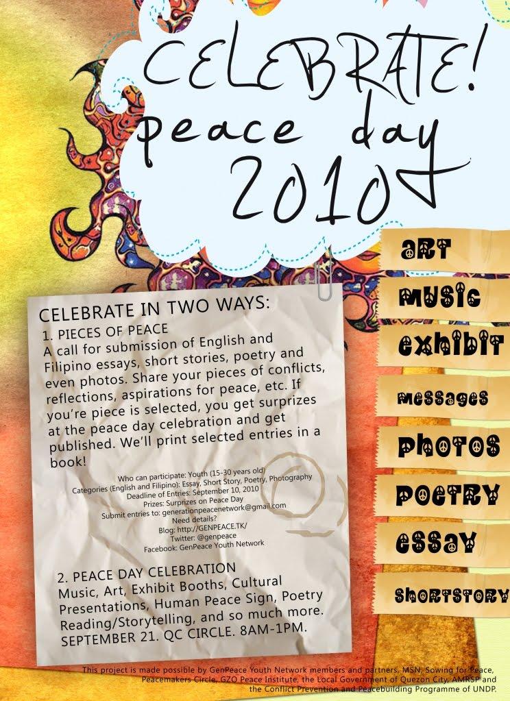 essay on peace