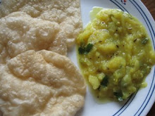 potato curry for poori