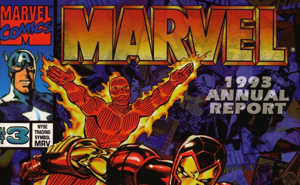 I Love Rob Liefeld A Comic Book Blog Marvels 1993 Annual Report