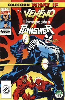 Y si Veneno hubiera poseído a Punisher?