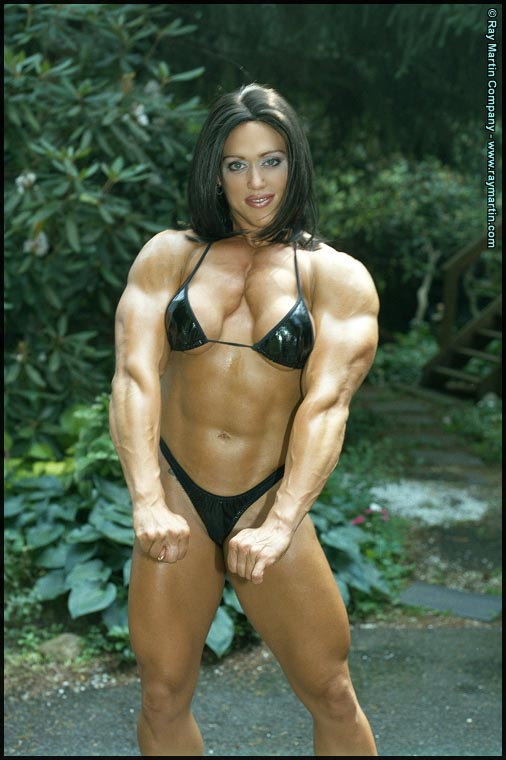 girls with pecs
