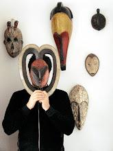 Máscara Kwele de Gabón