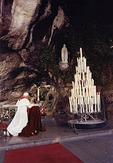 John Paul II at Lourdes