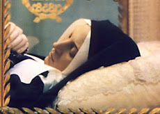 Incorrupt body of St Bernadette