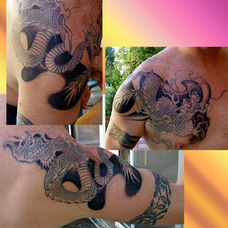 Dragon Tattoo Hand, Finger and Sleeve Ideas