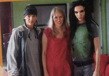 PHOTO; Tokio Hotel - Tom Bill and Miriam