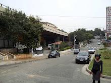 A praça do Galpão