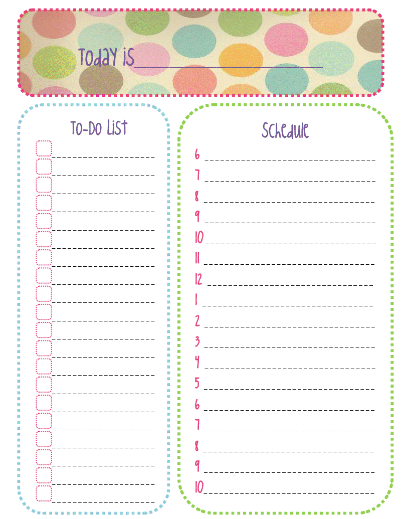 monthly do list template .