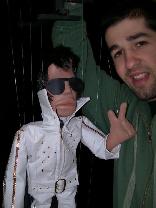 Facundo con su Elvis