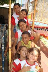 As crianças do PETI animadas com as ações do PETECA