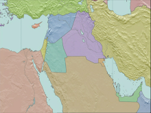 1919 Middle East