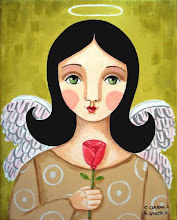 Angel with Rose