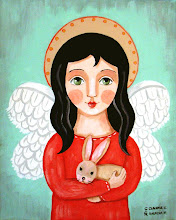 Angel with Bunny