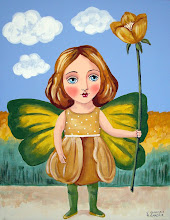 Fairy with Big Flower