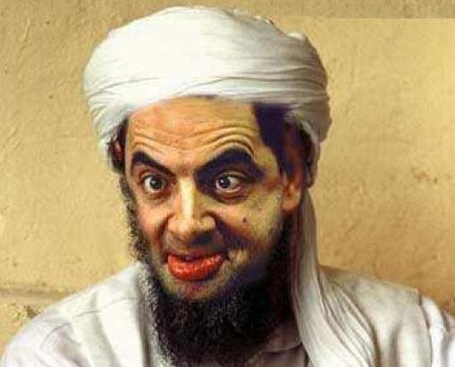 funny osama in laden cartoon. bin laden funny cartoon bin
