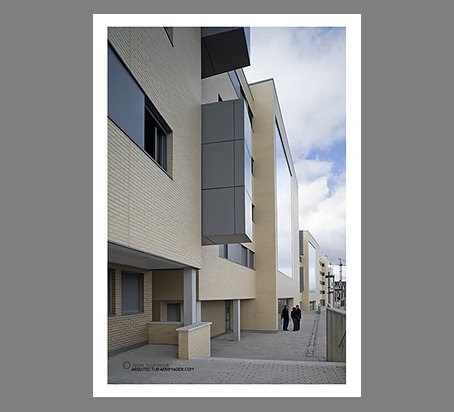 Arquitecturaenimagen julian franco lopez arquitecto architect edificio de viviendas en - Arquitectos en valladolid ...